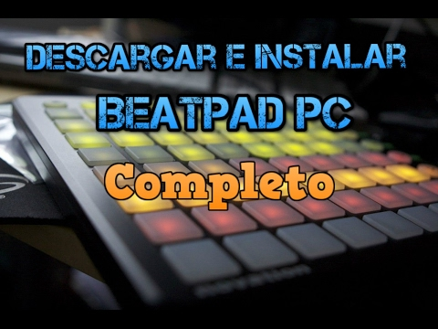 como descargar beatpad para pc + musica