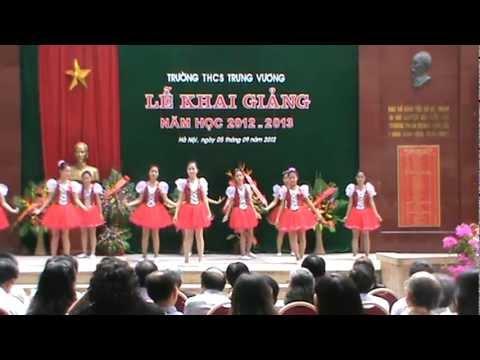 Văn nghệ khai giảng năm học 2012-2013 THCS Trưng Vương