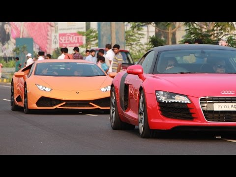 Kerala SuperCars Accelerating - 2016 Pete's Super Sunday | Cochin, India