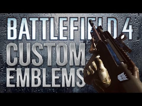 Battlefield 4 (BF4) How To Create a Custom Emblem