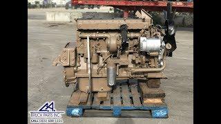 Cummins L10 Diesel Engine 300 HP CPL 1619 WALK AROUND Serial # 34605599 | CA TRUCK PARTS