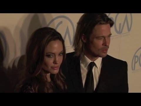 Brad Pitt's £3000 Curry - Splash News