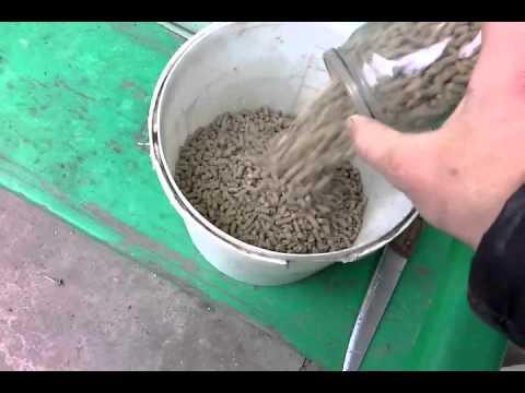 Корма гранулированные для кроликов своими руками