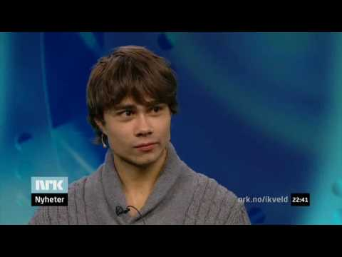 Alexander Rybak 10.12.2009 - interview Norwegian TV - eng subs
