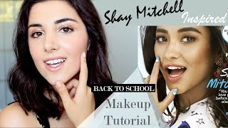 SHAY MITCHELL 2015 INSPIRED MAKEUP TUTORIAL
