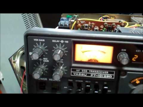 Yaesu FT-101ZSD: Check the correct S-meter functionality of the IF unit board.