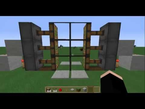 Tutorial como hacer puertas de vidrio en minecraft bien explicado youtube - Puertas deslizantes de cristal ...