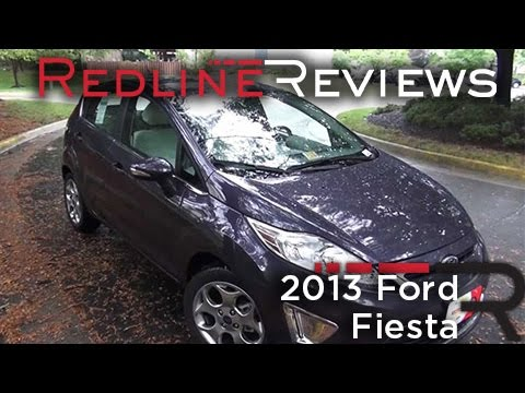 2013 Ford Fiesta Titanium Hatch Walkaround. Exhaust. Review. Test Drive