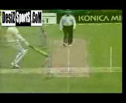 Muttiah Muralitharan's amazing run out @ Christchurch v.s NZ