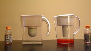 Clearly Filtered vs Brita Water Filters - Red Gatorade Challenge