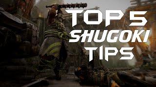 For Honor | 5 Advanced Shugoki Tips to help you WIN