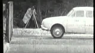 renault dauphine crash test