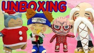 Unboxing #16: Anime Plush Compilation!