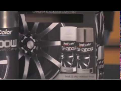 Dupli-Color Shadow Chrome Black-Out Coating - YouTube