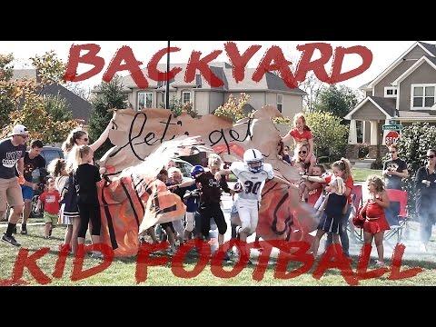 Best Little Kids Backyard Football Game 2 || HD