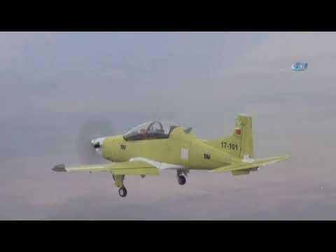 HÜRKUŞ-B İlk Uçuş Testini Gerçekleştirdi
