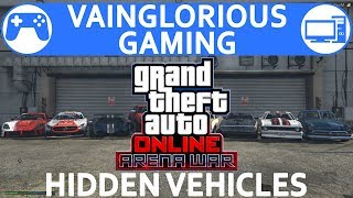 Arena War Hidden Vehicle Customization & Test Drive - GTA Online DLC Unreleased Vehicles