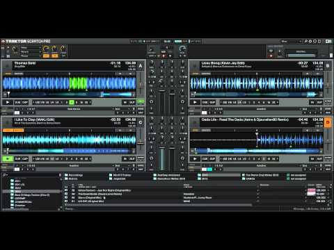 [REDIF LIVE] - Mix N4 Sur Traktor Pro 2 - 100% Electro (Surement un de mes meilleurs mixs)