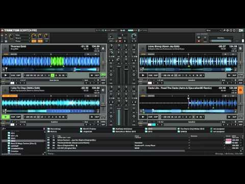 [REDIF LIVE] - Mix N°4 Sur Traktor Pro 2 - 100% Electro