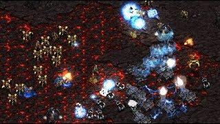 Flash (T) v Free (P) on Ashworld - StarCraft  - Brood War REMASTERED