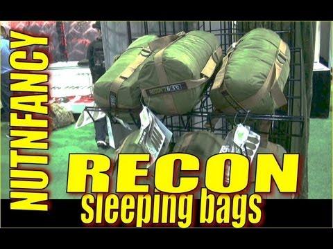 Nutnfancy SHOT 2013: Recon Sleeping Bags
