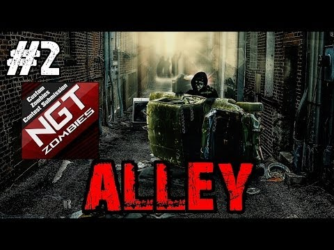 Custom Zombies - Alley | The Juggless Challenge! (Part 2)