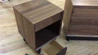 QLine Cube Table with secret hidden compartment