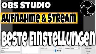 Die Besten Obs Studio Stream und Aufnahme Einstellungen 2019 | HerrKollege