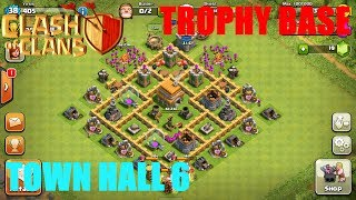 Download BEST Town Hall Level 6 Defense Strategy for Clash of Clans 3Gp Mp4