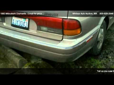1993 Mitsubishi Diamante ES wagon - for sale in Pacific, WA 98047