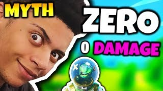 MYTH SHOWS ZERO DAMAGE GLITCH (0 FALL DAMAGE) | Fortnite Daily Funny Moments Ep.39