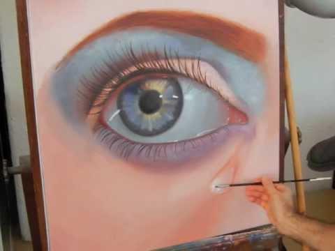 c mo pintar un ojo realista al leo arte divierte youtube