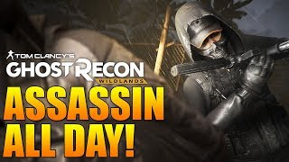 Playing Assassin All Day! | Elite Ranked // Prestige 10 | Ghost Recon Wildlands PVP