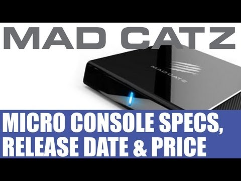 Mad Catz News - Mojo Android Microconsole Release Date, Price & Specs Revealed - Thoughts
