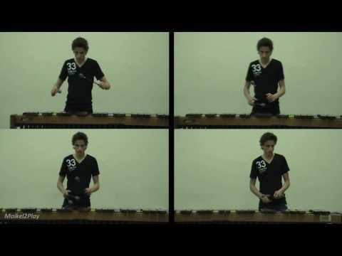 Michael Jackson Medley on Marimba