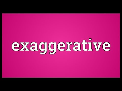Header of exaggerative