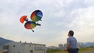 RC Umbrella airplanes (RC 우산비행기)