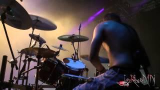 Conan,  Drum-Cam shot @ Bloodstock 2015