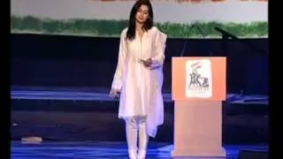 Shreya Ghosal Bangla live concert song ekla cholo re (exclusive)