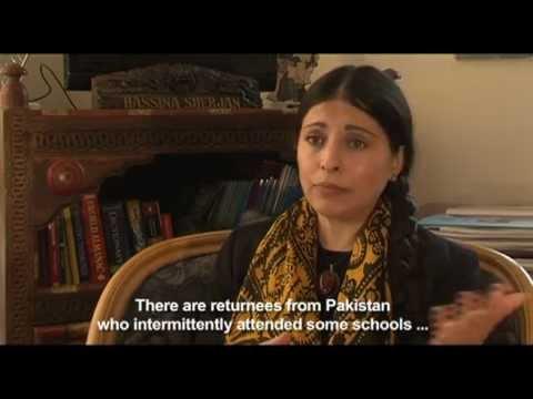 Aid Afghanistan for Education - Hassina Sherjan