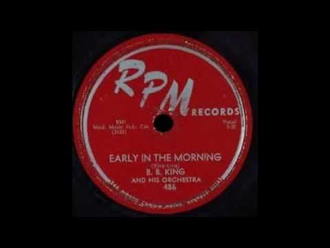 B.B. King - Early In The Morning
