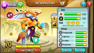 Dragon City - High Winter Dragon, NEW HEROIC SKIN | EXCLUSIVE DRAGON! ?