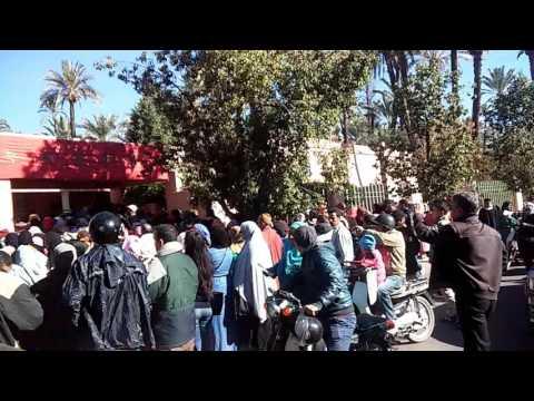 """لا يسع المواطنين بمراكش إلا أن يقولوا"""" اللهم إن هذا منكر""""أمام مستشفى """"سفيل"""".."""
