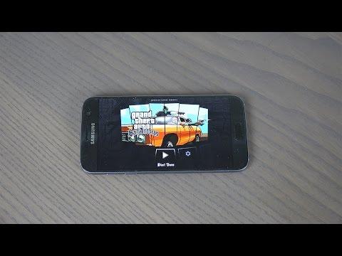 GTA San Andreas Samsung Galaxy S7 Gameplay -  Review!