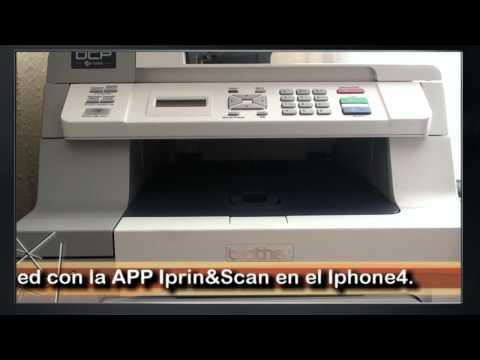 Imprimir desde el Iphone 4 por wifi.