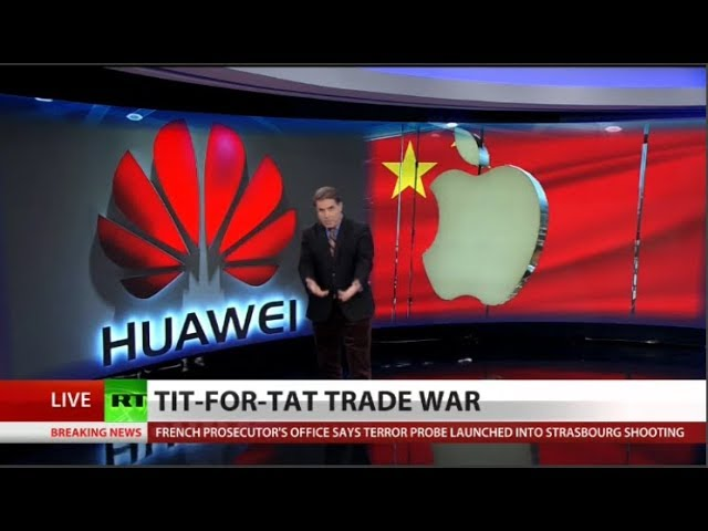 China retaliates against Apple for Huawei arrest