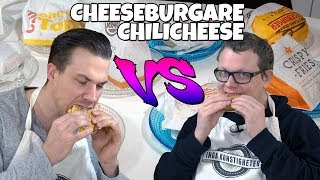 Bästa Cheeseburgare & Chili Cheese!? McDonalds, Max och Burger King!