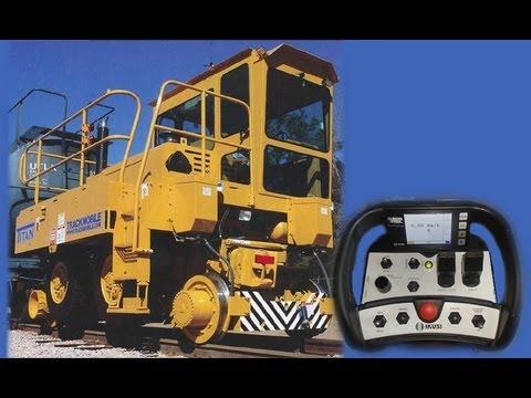 Automação - Locotrator e Rádio Controle com Display