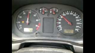 Golf IV 1.8 20v 80-160 acceleration
