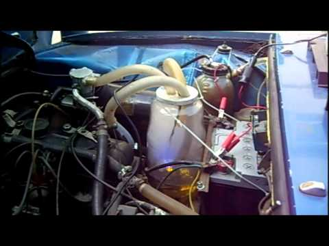 Car running on ultrasonic gasoline mist (3 of 5)
